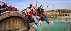 pretpark, spanje, vakantie