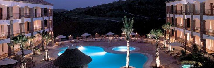 resorts, spanje, vakantie