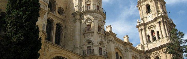 malaga, kathedraal, bezienwaardigheden