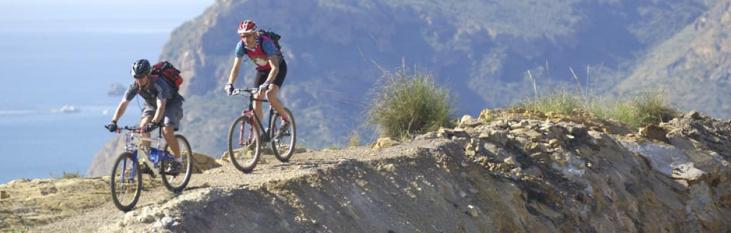 mountainbiken, fietsen, spanje, vakantie