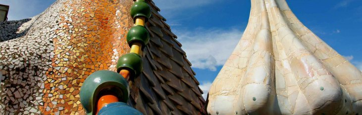 stedentrip, barcelona, Gaudi's Park Guell, vakantie, spanje