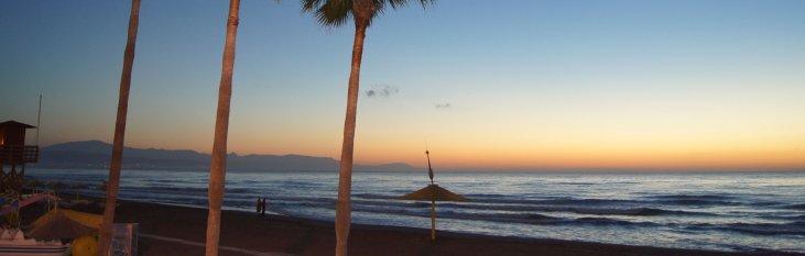 strand, torremolinos, weer, klimaat